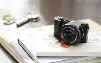 Wallpaper: Sony A5000 camera
