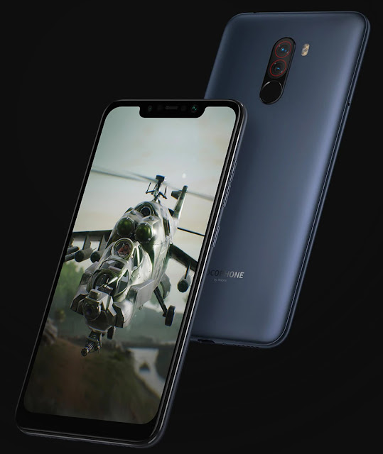 Movile F1 4G Phablet Global Version 6GB RAM - RED - Xiaomi Pocophone