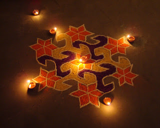 Diwali Rangoli Patterns For Home