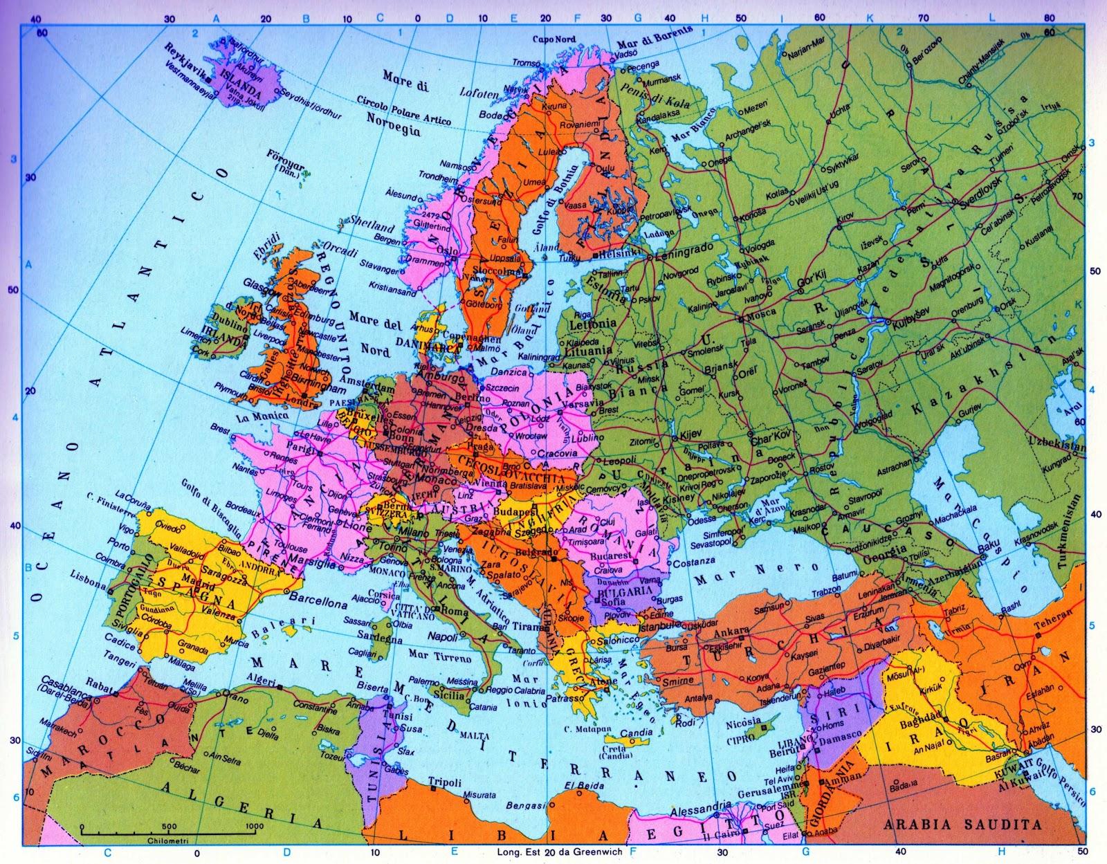 Economia economia politica 3 nel mondo occidentale dal - Foto della mappa del mondo da stampare ...
