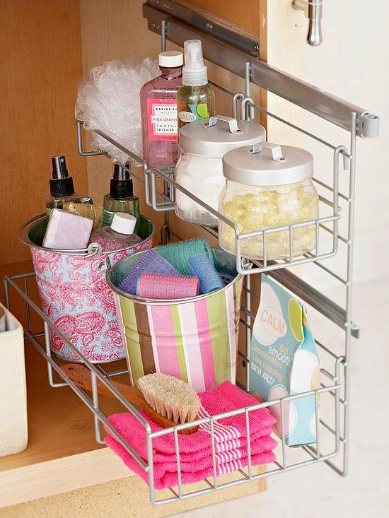 Armario Baño Pequeno:Ideas imprescindibles para organizar un baño pequeño
