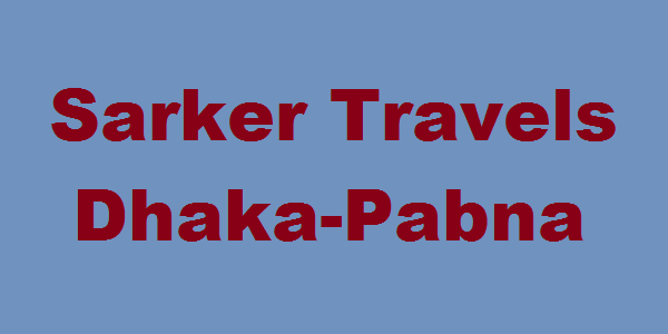 Dhaka-Pabna Sarker Travels Bus Service