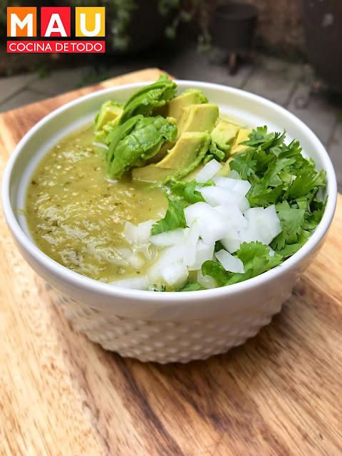 receta salsa verde facil mexicana mau cocina de todo tomatillo fresadilla taquera
