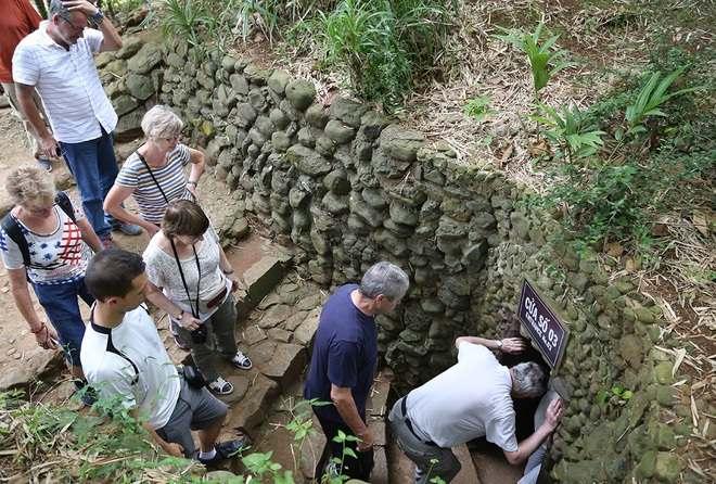 inilah Terowongan Vinh Moc Tempat Berlindung Warga Saat Perang Vietnam - Amerika