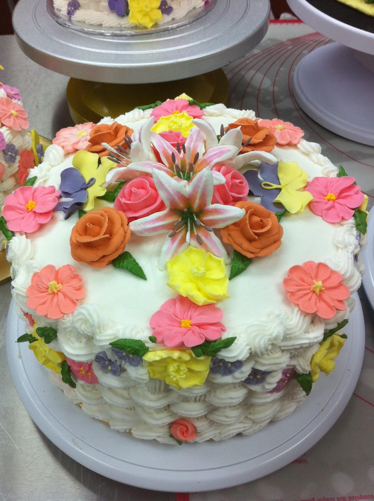 Home May'de Cakes: Wilton cake Decorating Course 2 : Class ...