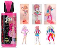 jem outrageous pink manic panic hair dye raya danse dolls comic