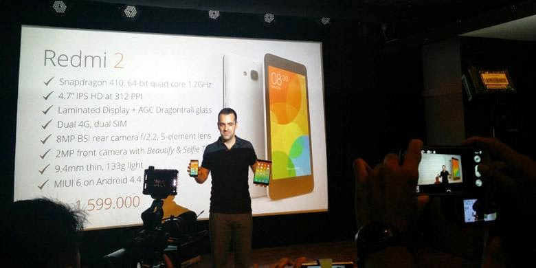 Xiaomi Redmi 2 Sudah Bisa Dibeli Mulai 8 April, Ini Harganya