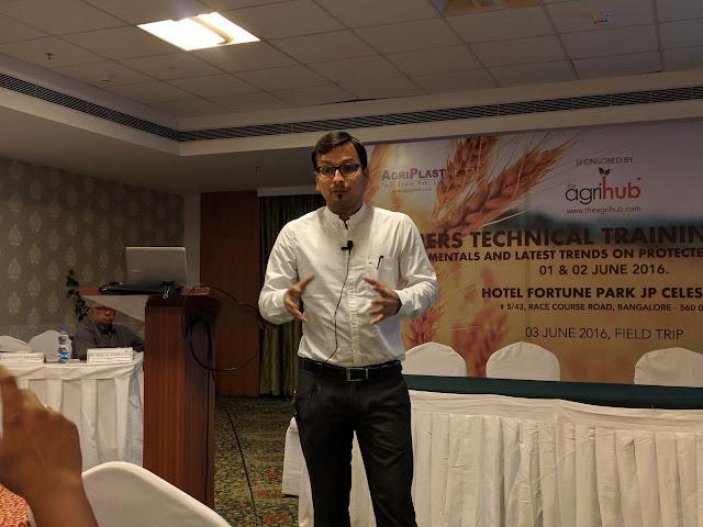 TheAgrihub's Farmer Technical Training Program in Bangalore