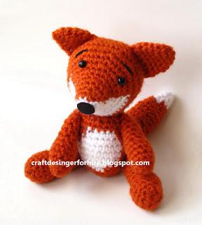 Free Amigurumi Fox Pattern