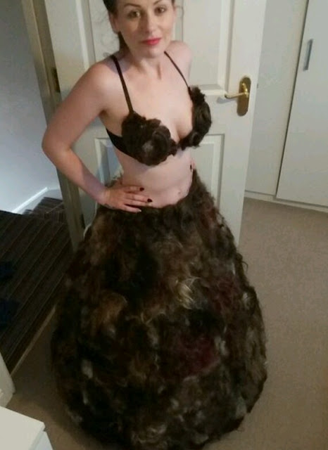 bizarre: Woman Makes Clothes with hairs from private parts