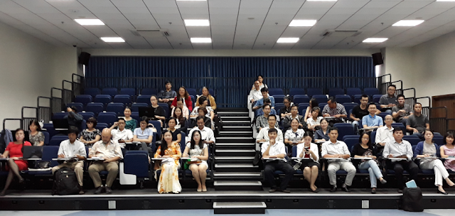 Hội thảo 'Tìm kiếm và khai thác nguồn tài nguyên thông tin truy cập mở cho nghiên cứu, giảng dạy và học tập' tại đại học Hoa Sen, TP. Hồ Chí Minh