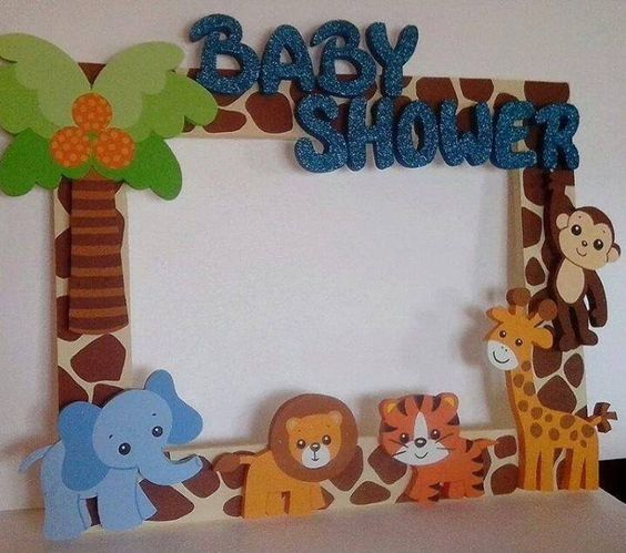 Decoraci n de cumplea os con animales de la granja y de la for Preparativos para baby shower