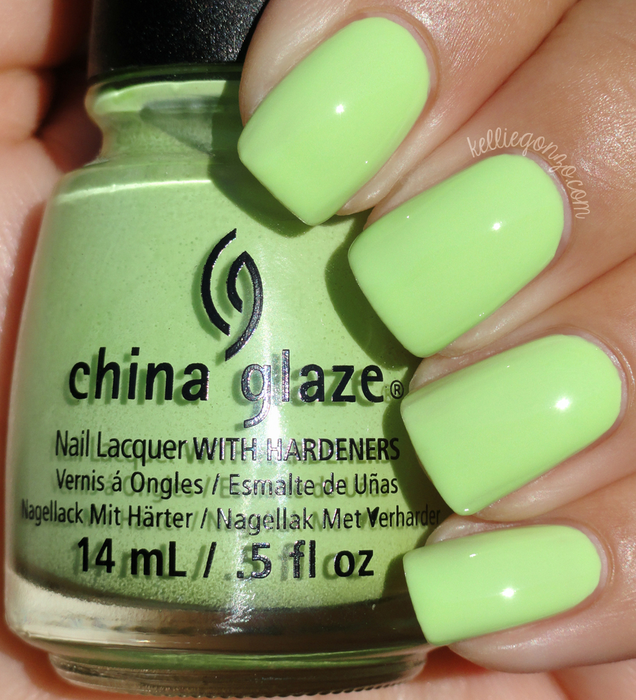 China Glaze - Be More Pacific // kelliegonzo.com