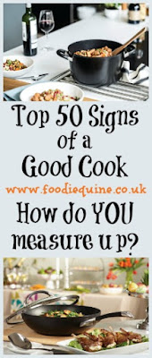 www.foodiequine.co.uk Would you call yourself a good cook?  A study by Circulon has revealed the top 50 indicators of culinary expertise. Can you stand the heat? Read on and find out how you measure up...