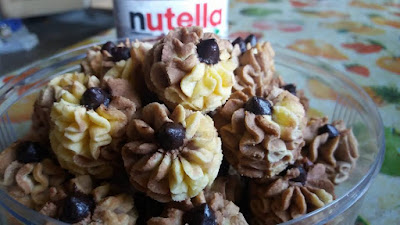 Resepi Mudah Biskut Semprit Nutella Sedap Meletop