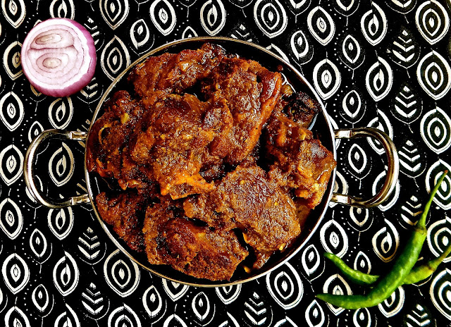 Mutton Do Pyaaza, beef, mutton, goat, lamb, buffalo, non veg, meat, indian, onions, recipe, easy, mughal, punjabi,
