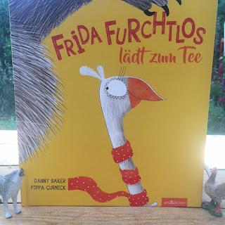 Lustiges Bilderbuch zum lebendigen Vorlesen: Frida Furchtlos
