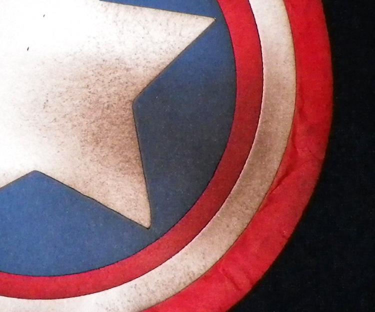 Cards By CG: Captain America Shield Shaped Card