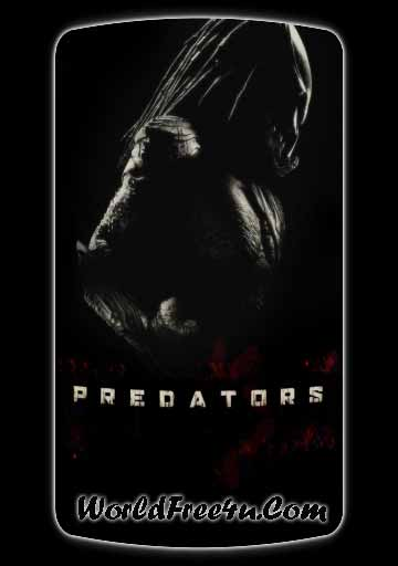 Poster Of Predators In Dual Audio Hindi English 300MB Compressed Small Size Pc Movie Free Download Only At worldfree4u.com