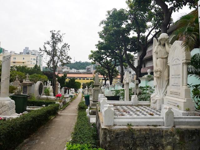 St. Michael Archangel Cemetery, Macau
