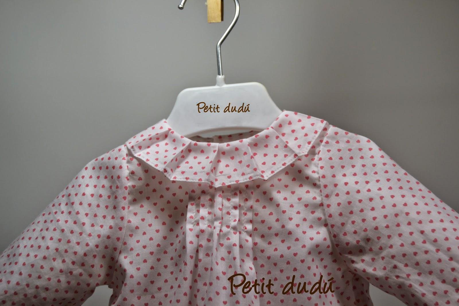 blusa corazones petit dudu