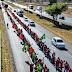 Integrantes do MST chegam ao DF para registro da candidatura de Lula