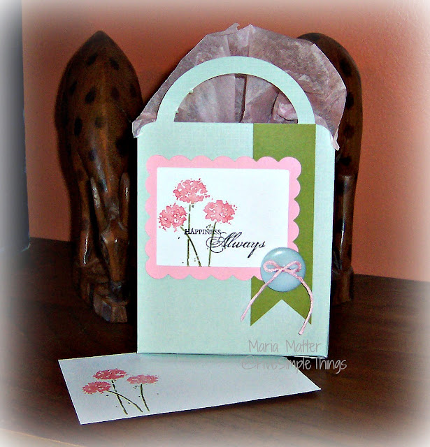 Cricut gift bag - Happiness Always, Stampin' Up