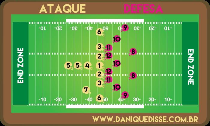 baac505d8b O Guia do Futebol Americano - Dani Que Disse