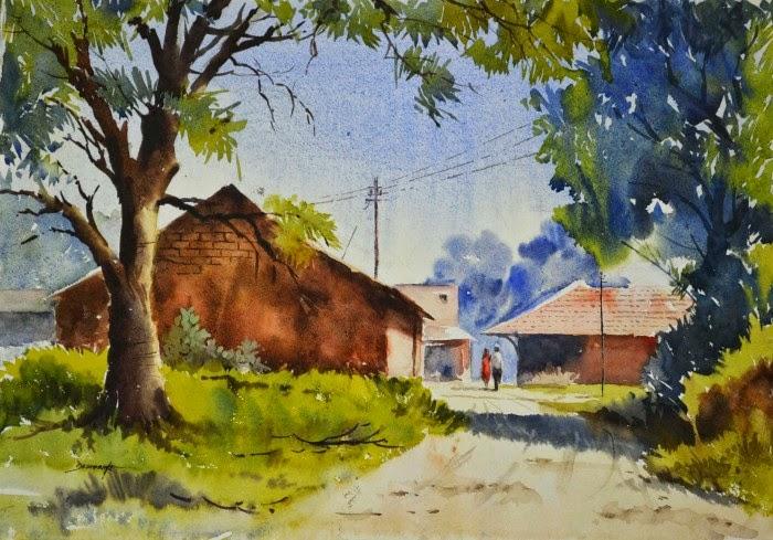 Изобразительное искусство Индии. Vinayak Deshmukh