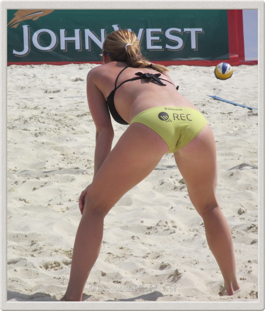 Czech Beach Volley Player Kristyna Kolocova