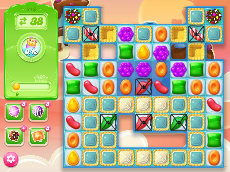 Candy Crush Jelly Saga level 712