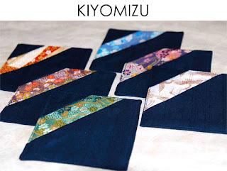 Untersetzer Kiyomizu von Noriko handmade, japanisch, Japan, handgemacht, Einzelstück, Unikat, Design