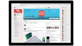 το νέο πρόγραμμα Workplace Facebook