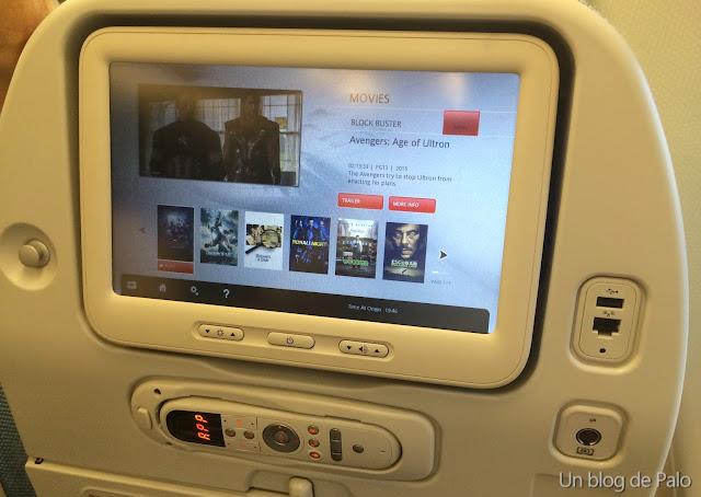 entretenimiento en turkish airlines compañía aérea