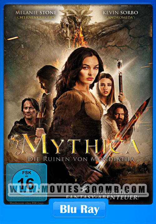 Mythica The Darkspore 2015 720p BluRay Poster
