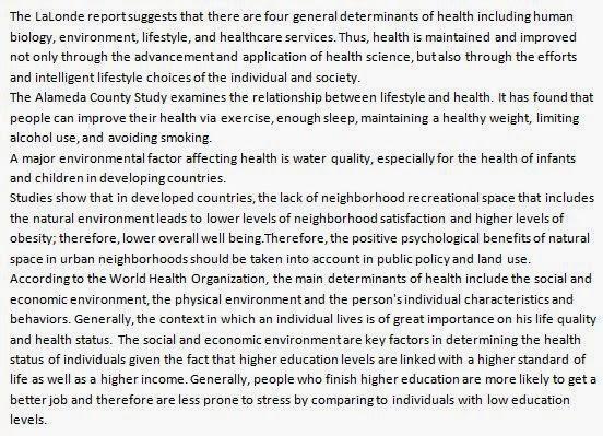 Artikel Bahasa Inggris Health Kesehatan