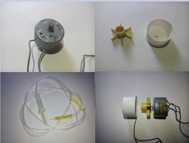 Water Pump के लिए material Dc Motor