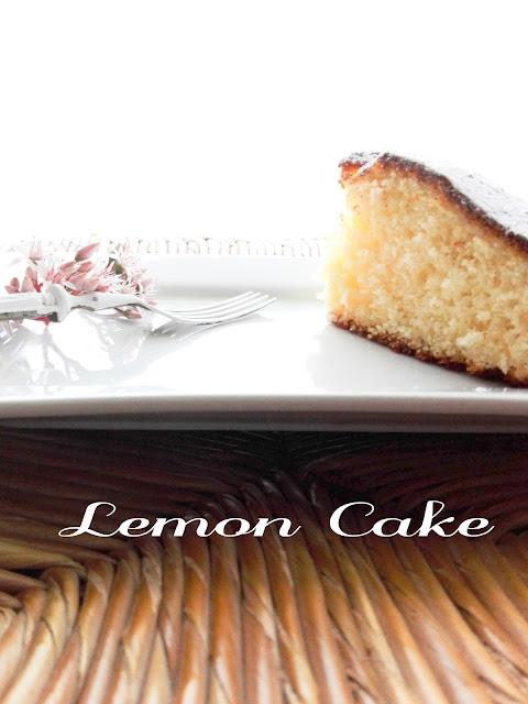 Mrs Pettigrew-Lemon Cake-limone