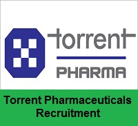Torrent Pharmaceuticals Recruitment