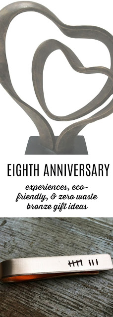 Unique and Eco-Friendly Bronze Gift Ideas for your Eighth Anniversary