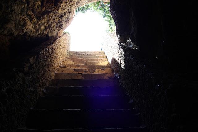 escadas natureza
