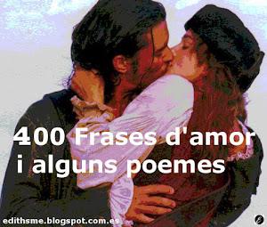 400 frases amor i poemes