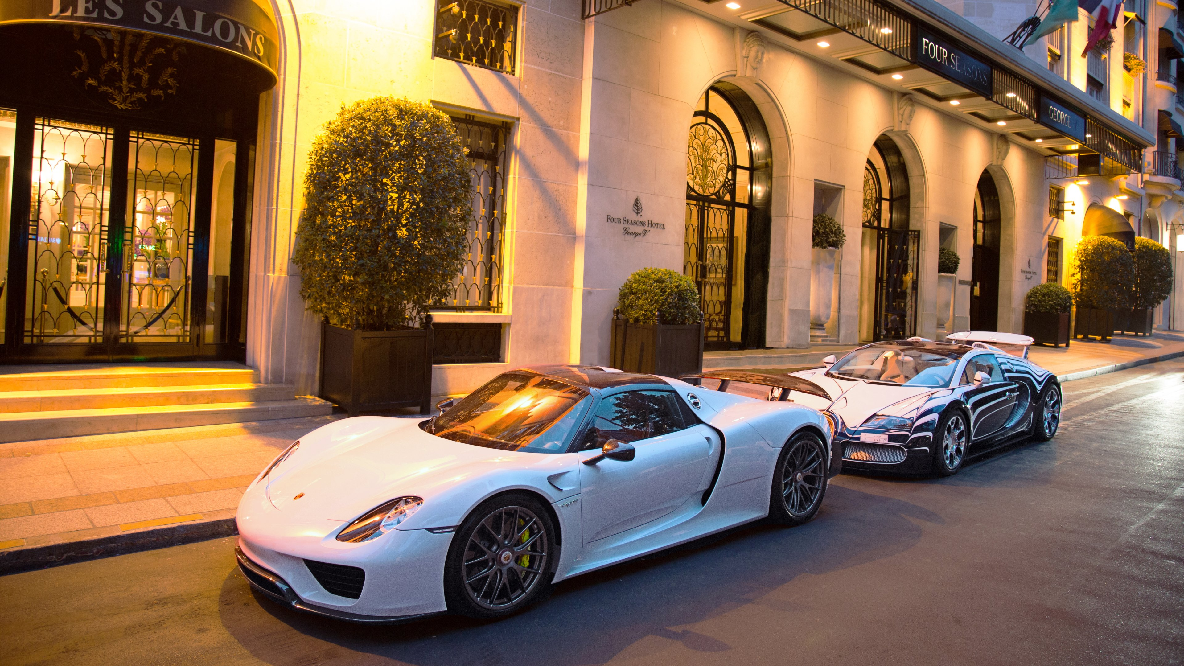Porsche_918_Spyder_London_Streets_uhd Remarkable Porsche 918 Spyder In London Cars Trend