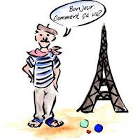 Mann Französisch