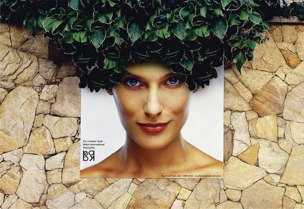 Реклама клиники по восстановлению волос