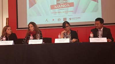 Héroes Manga Madrid 2017