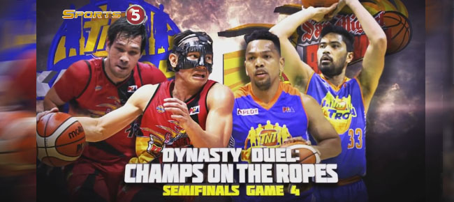 HIGHLIGHTS: San Miguel vs. TNT (VIDEO) February 14 / Semis Game 4