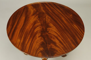Reproduction Mahogany Tea Table For Sale