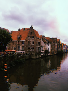 the canal in ghent