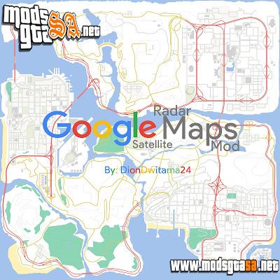 Mod Mapa do Satélite da Google